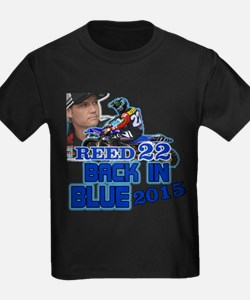 Reed Back in Blue T-Shirt