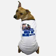 Reed Back in Blue Dog T-Shirt