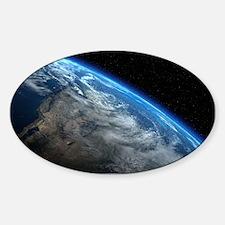EARTH ORBIT Sticker (Oval)