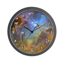 EAGLE NEBULA Wall Clock
