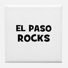 El Paso Rocks Tile Coaster