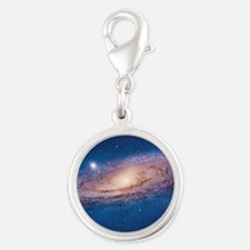 ANDROMEDA Silver Round Charm