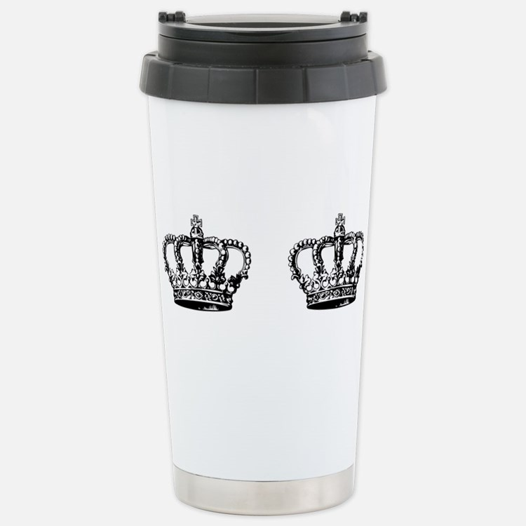Cute Black crown Travel Mug