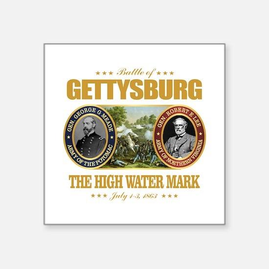 """Gettysburg (FH2) Square Sticker 3"""" x 3"""""""