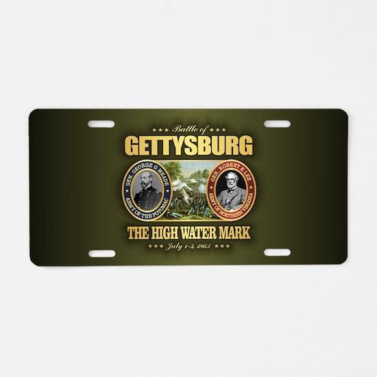 Gettysburg (FH2) Aluminum License Plate