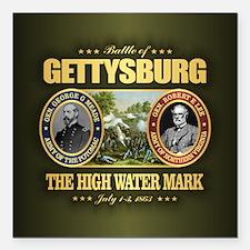 "Gettysburg (FH2) Square Car Magnet 3"" x 3"""