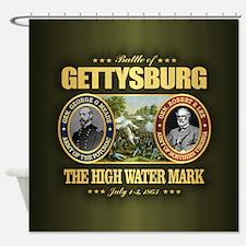 Gettysburg (battle) Shower Curtain