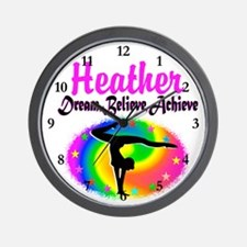 GYMNAST QUEEN Wall Clock