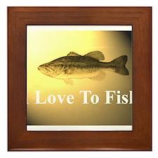 fish 4 Framed Tile