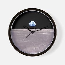 Apollo 11Earthrise Wall Clock
