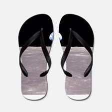 Apollo 11Earthrise Flip Flops