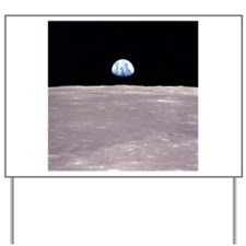 Apollo 11Earthrise Yard Sign