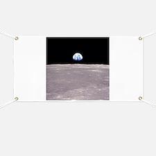 Apollo 11Earthrise Banner