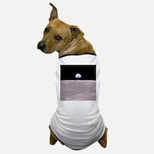 Apollo 11Earthrise Dog T-Shirt