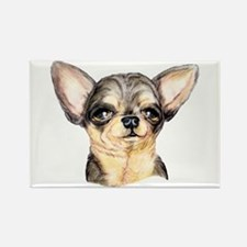 B&T Chihuahua Bust Rectangle Magnet