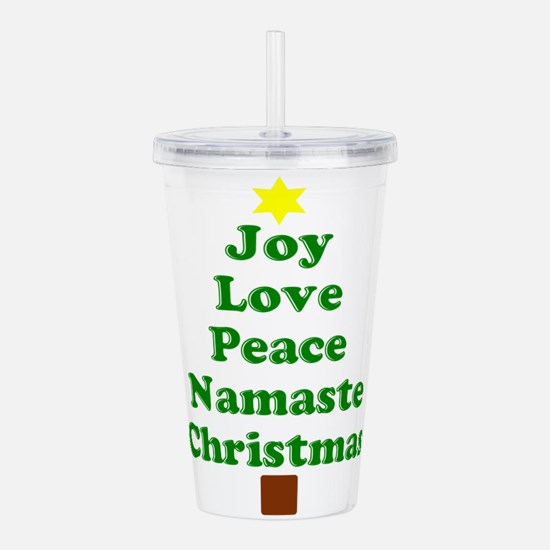 Wordy Tree Acrylic Double-wall Tumbler