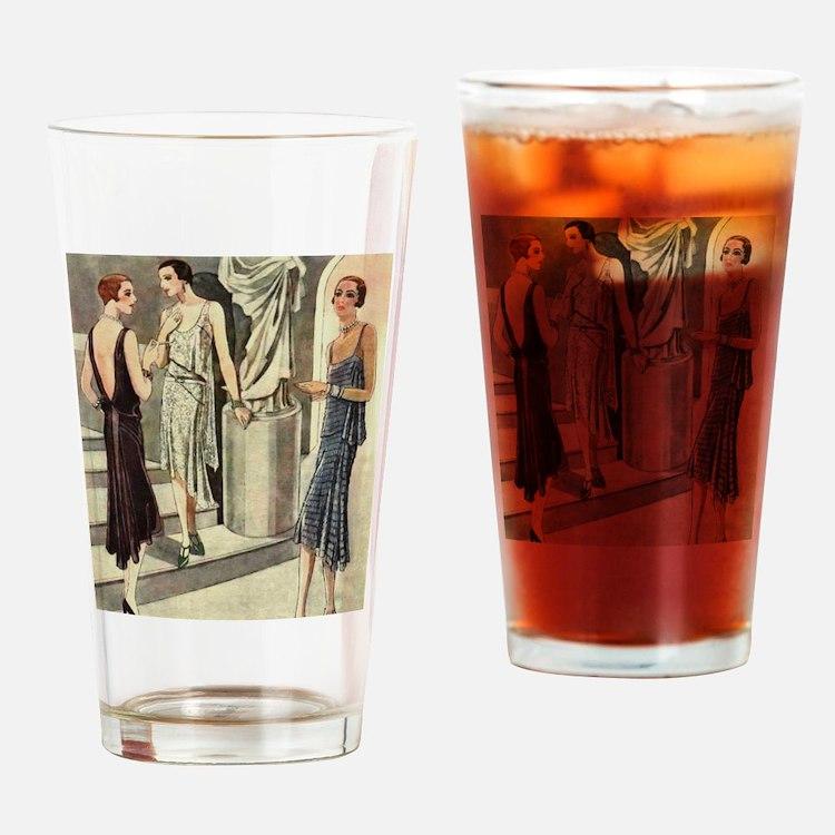 Cute Abbey Drinking Glass