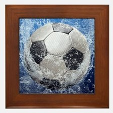 Ball Splash Framed Tile