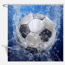 Ball Splash Shower Curtain