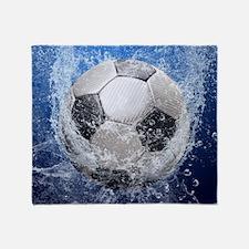 Ball Splash Throw Blanket