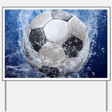 Ball Splash Yard Sign