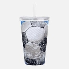 Ball Splash Acrylic Double-wall Tumbler