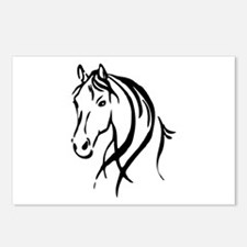 Horse Head Postcards (Package of 8)