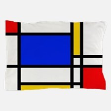Mondrian-2a Pillow Case