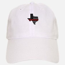 Texas Firefighter Thin Red Line Hat