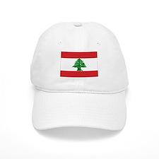 Lebanese Flag Baseball Cap