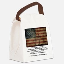 Defining Forces Canvas Lunch Bag