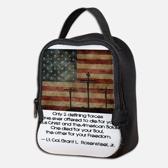 Defining Forces Neoprene Lunch Bag