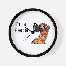 NBrdl Keeper Wall Clock