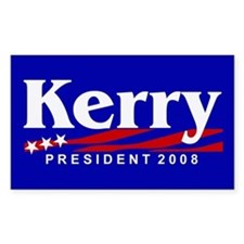 JOHN KERRY PRESIDENT 2008 Rectangle Decal