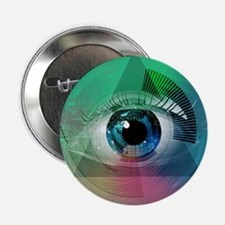 "All Seeing Eye 2.25"" Button (10 pack)"