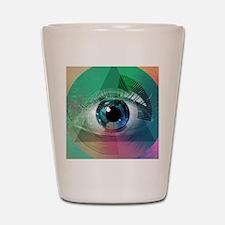 All Seeing Eye Shot Glass