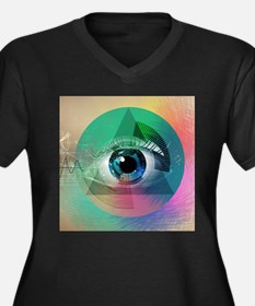 All Seeing Eye Plus Size T-Shirt