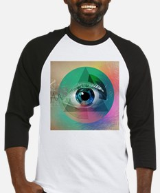 All Seeing Eye Baseball Jersey