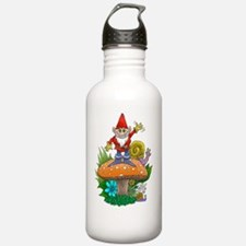 Waving gnome. Water Bottle