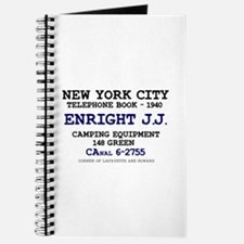 NEW YORK CITY TELEPHONE BOOK 1940 - ENRIGH Journal