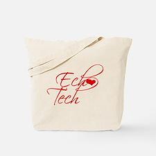 Cursive Ech(heart) Tech Tote Bag