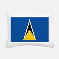 Saint Lucia Rectangular Canvas Pillow