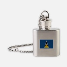 Saint Lucia Flask Necklace