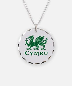 Cute Wales flag Necklace