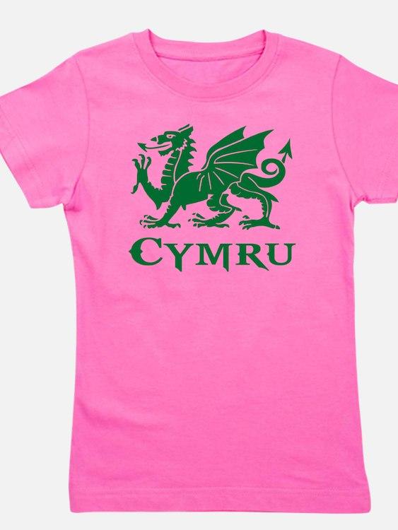 Cute Wales rugby Girl's Tee
