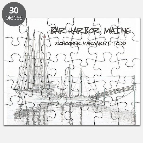 Bar Harbor Schooner Puzzle