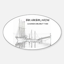 Bar Harbor Schooner Decal
