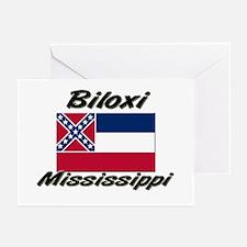 Biloxi Mississippi Greeting Cards (Pk of 10)