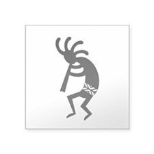 Black And White Kokopelli Southwest Design Sticker