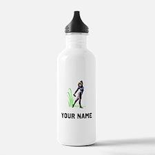 Female Bodybuilder Sports Water Bottle